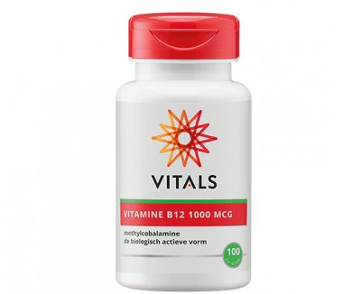 Vitals Actieve Vitamine B12 supplement vegan