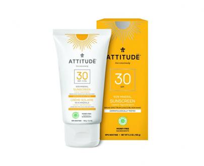 attitude zonnebrand tropical zonnebrandcrème 150ml 30spf veilig zonnen