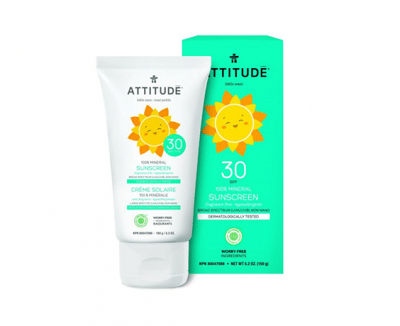 Attitude Little Ones Zonnebrandcrème Parfumvrij 150ml 30SPF
