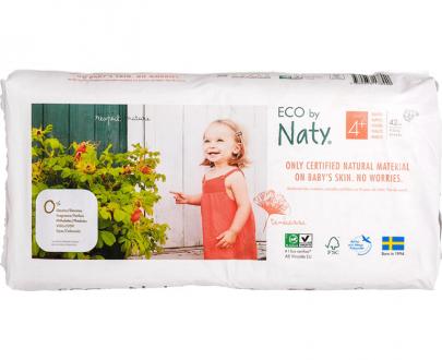 naty ecologische luiers maat 4+ economy pack voordeelverpakking