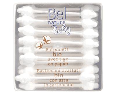 bel nature baby wattenstaafjes biologisch katoen