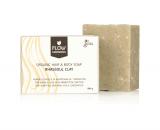 Flow Cosmetics Rhassoul Klei bar biologisch veganistisch 100gr gerecycled karton