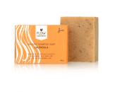 Flow Cosmetics Shampoo Bar Calendula biologisch haar gerecycled karton 100gr