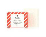 flow cosmetics zoutzeep pepermunt biologisch veganistisch gerecycled karton 100gr