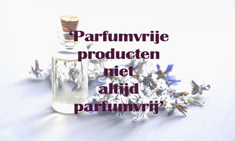 parfumvrij radar