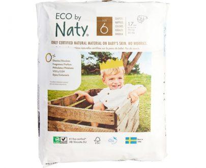 Naty luiers maat 6 +16kg ecologisch chloorvrij