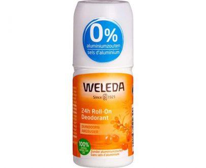 Weleda Duindoorn deodorant roller zonder aluminiumzouten