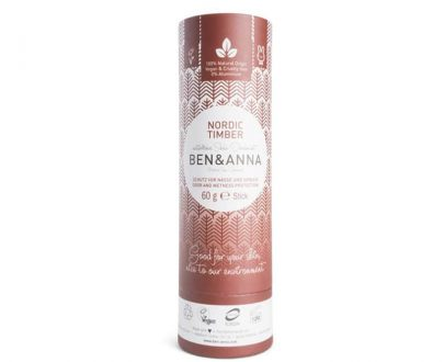 Ben & Anna deodorant push up nordic timber