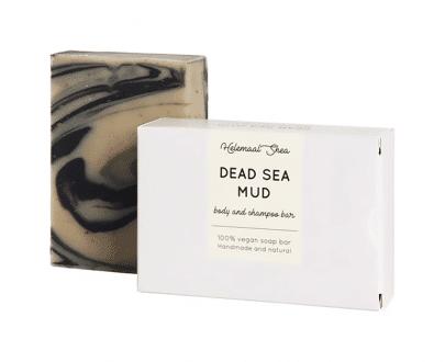 Helemaal Shea Dode Zee Modder biologisch vegan zero waste 110 gr