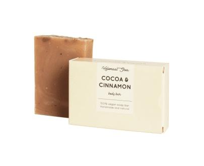 Helemaal Shea Cacao & Kaneel zeep bar biologisch vegan