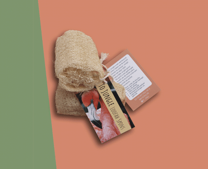 To Jungle Loofah spons zero waste