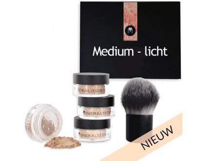 Mineralissima Foundation Set licht medium vegan cruelty free minerale make-up
