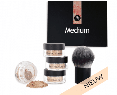 Mineralissima Foundation set cruelty free vegan minerale make-up