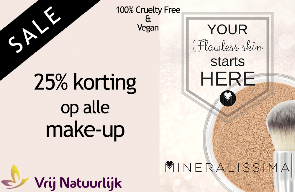 korting december make-up mineralissima
