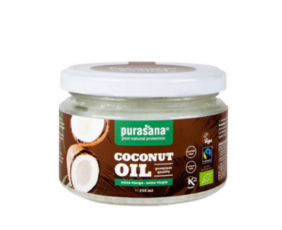 Purasana Extra Vierge kokosolie 250 ml